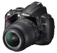 Зеркальная фотокамера Nikon D5000 KIT 18-55mm VR Black
