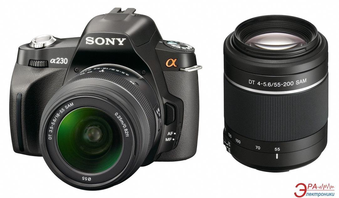 Зеркальная фотокамера sony alpha a230