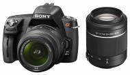 ���������� ���������� Sony Alpha A290 + ��������� 18-55 + 55-200 KIT (DSLRA290Y.CEE2) Black