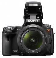 Зеркальная фотокамера Sony Alpha A33 + объектив 18-55 KIT (SLTA33L.CEE2) Black