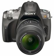 Зеркальная фотокамера Sony Alpha A330 + объективы 18-55 + 55-200 KIT (DSLR-A330Y) Black