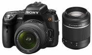���������� ���������� Sony Alpha A580 + ��������� 18-55 + 55-200 KIT (DSLRA580Y.CEE2) Black