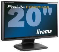 Монитор TFT 20  Iiyama ProLite E2008HDS-B1