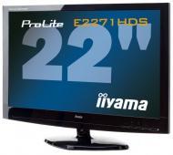 Монитор 21.5  Iiyama ProLite E2271HDS-B1