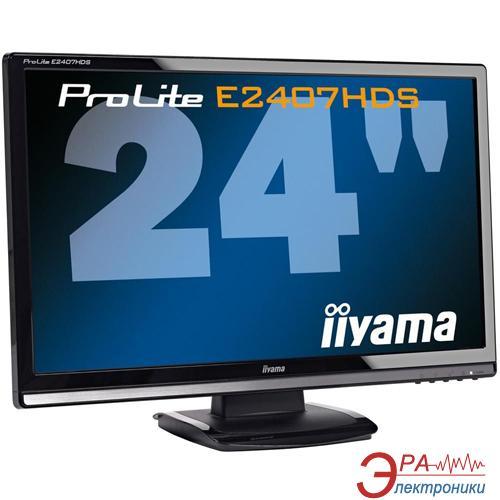 Монитор 23.6  Iiyama PLE2407HDS-B1