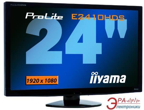 Монитор 23.6  Iiyama PLE2410HDS-B1