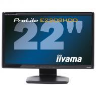 Монитор TFT 22  Iiyama ProLite E2208HDD-B1 Black