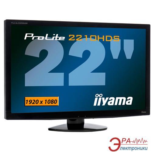 Монитор 22  Iiyama ProLite E2210HDSD-B1 Black