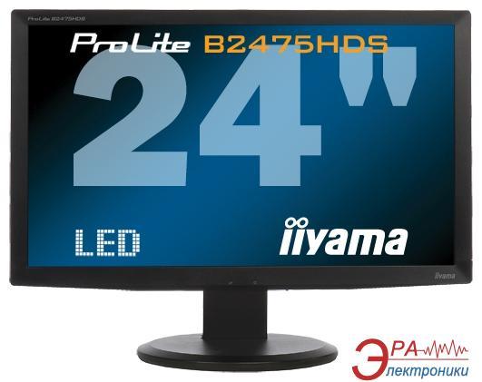 Монитор 23.6  Iiyama ProLite B2475HDS-B1 (B2475HDS-B1)