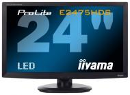 Монитор 23.6  Iiyama ProLite E2475HDS-B1 (E2475HDS-B1)