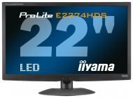 Монитор TFT 21.5  Iiyama ProLite E2274HDS-B2