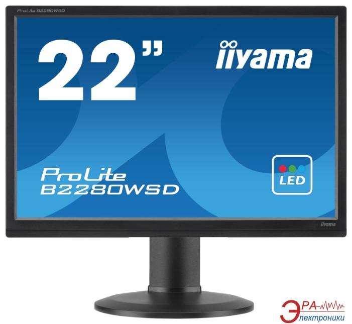 Монитор 22  Iiyama ProLite B2280WSD-B1