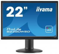 Монитор TFT 22  Iiyama ProLite B2280WSD-B1