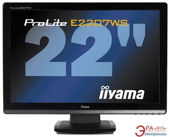 Монитор 22  Iiyama ProLite E2207WS-B2 (E2207WS-B2)