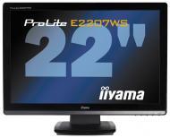 Монитор TFT 22  Iiyama ProLite E2207WS-B2 (E2207WS-B2)