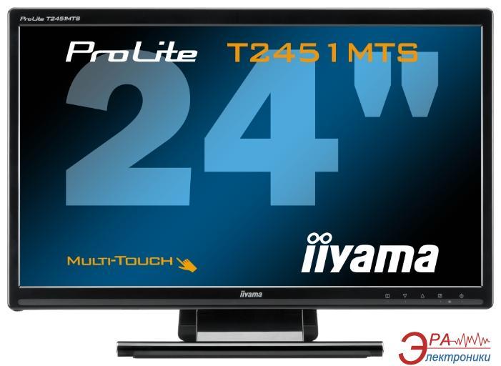 Монитор 23.6  Iiyama ProLite T2451MTS-B1