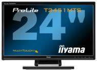 Монитор TFT 23.6  Iiyama ProLite T2451MTS-B1