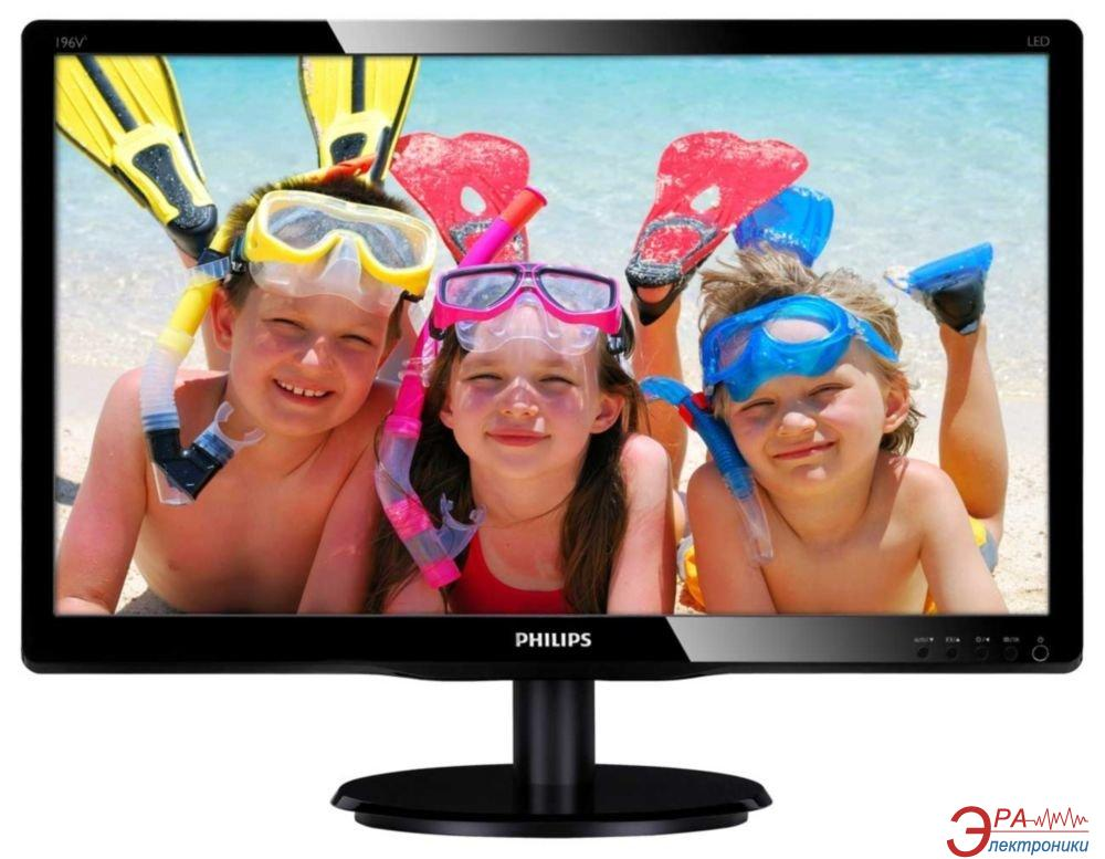 Монитор 18.5  Philips 196V4LSB2 (196V4LSB2/00(01))