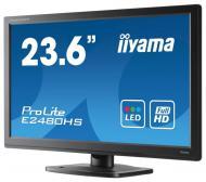 Монитор TFT 23.6  Iiyama ProLite E2480HS-B1 (E2480HS-B1)