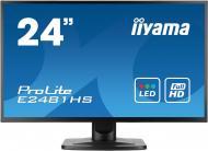 Монитор TFT 23.6  Iiyama ProLite E2481HS (E2481HS-B1)