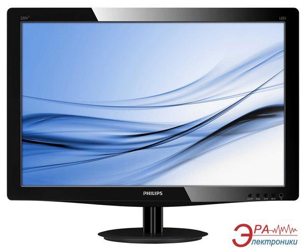 Монитор 22  Philips 220V3LSB (220V3LSB/62)