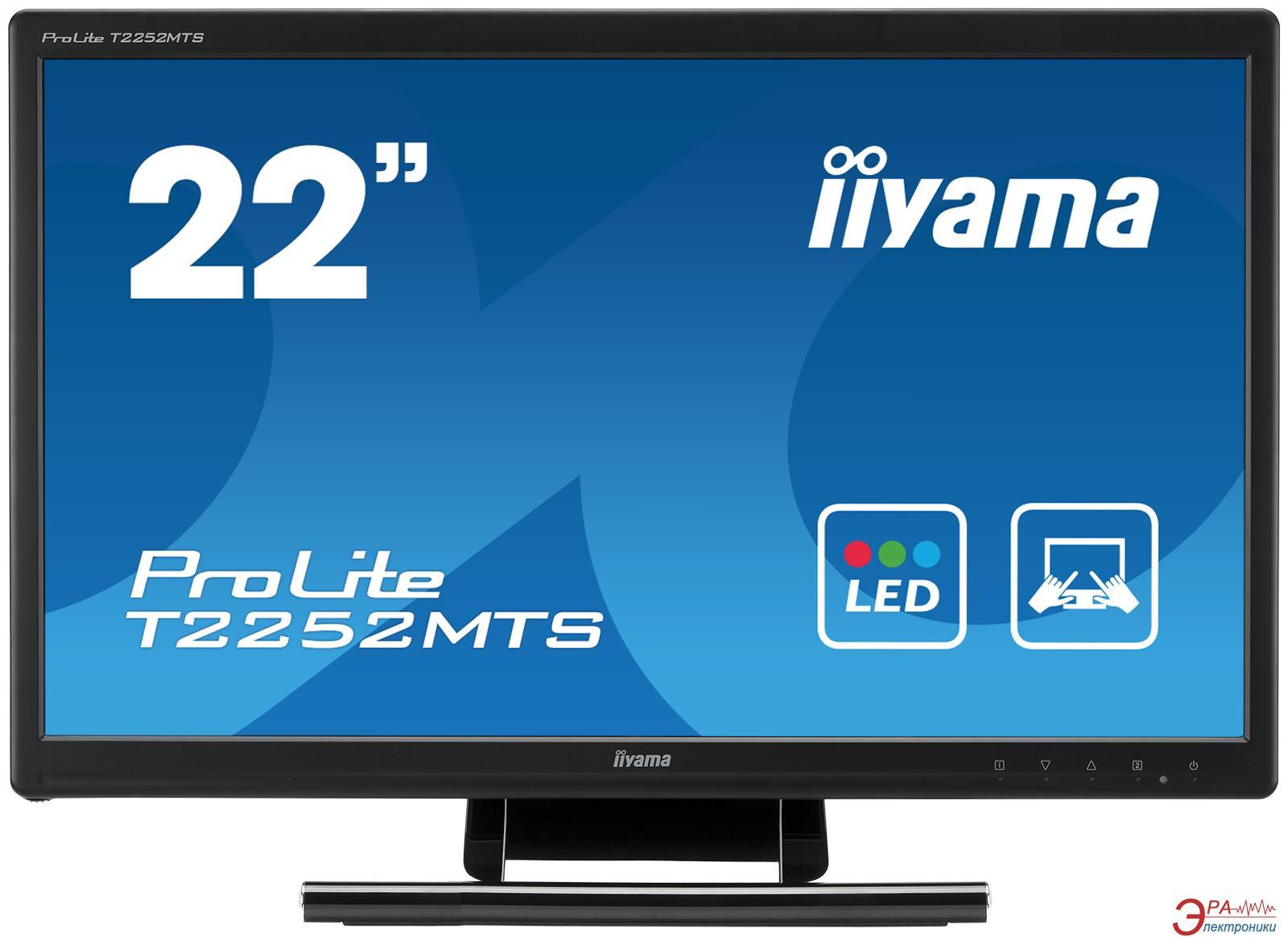 Монитор 21.5  Iiyama ProLite T2252MTS-B1 (T2252MTS-B1)