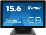 Монитор 15.6  Iiyama ProLite T1634MC-1 Multi-Touch (T1634MC-B1)