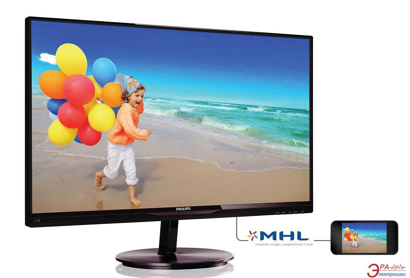 Монитор 27  Philips 274E5QHAB (274E5QHAB/00)