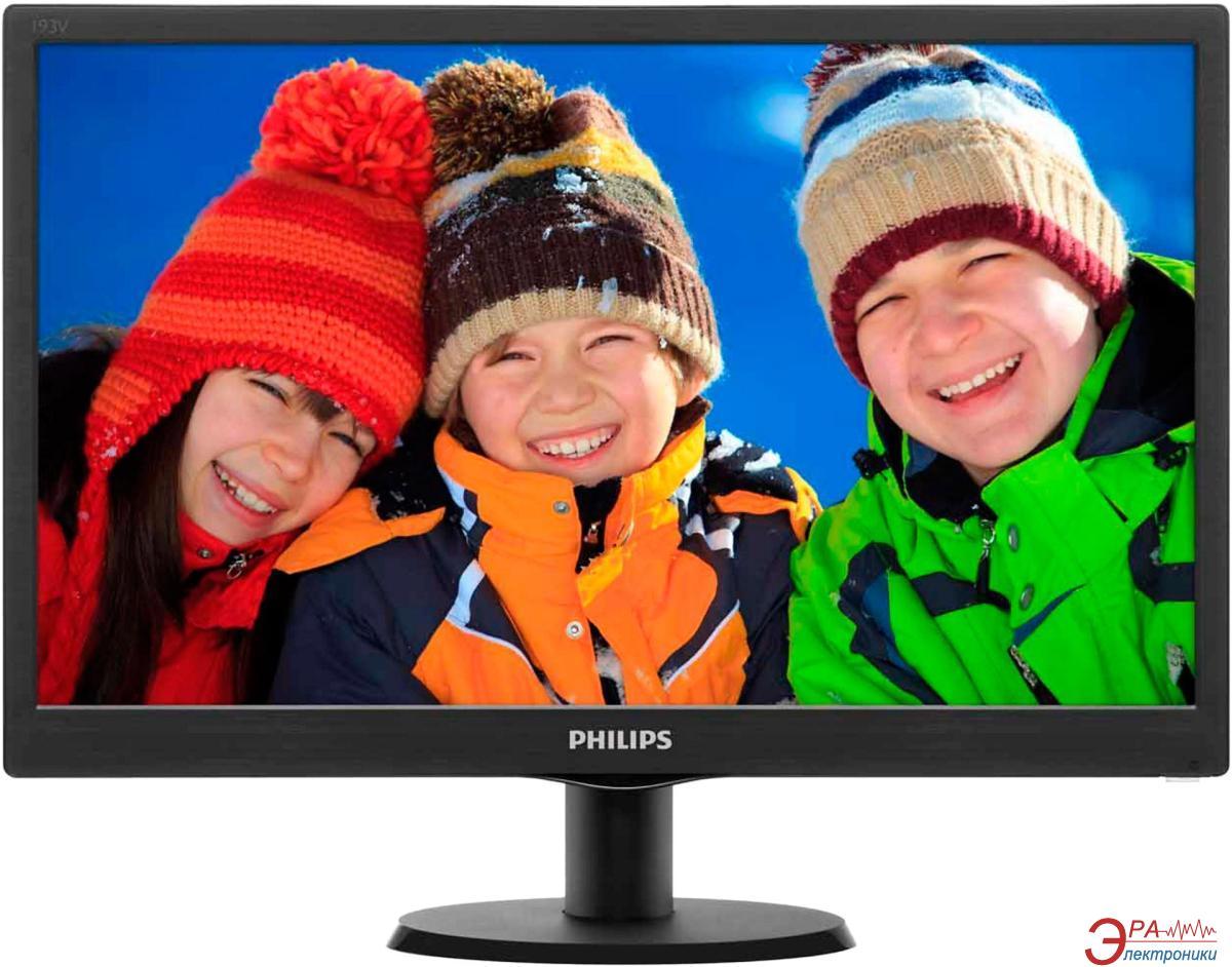 Монитор 18.5  Philips V-line 193V5LSB2 (193V5LSB2/62)