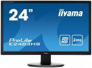 Монитор TFT 24  Iiyama ProLite E2483HS-B1