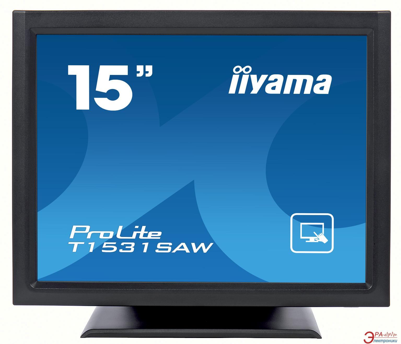 Монитор 15  Iiyama ProLite T1531SAW-B1