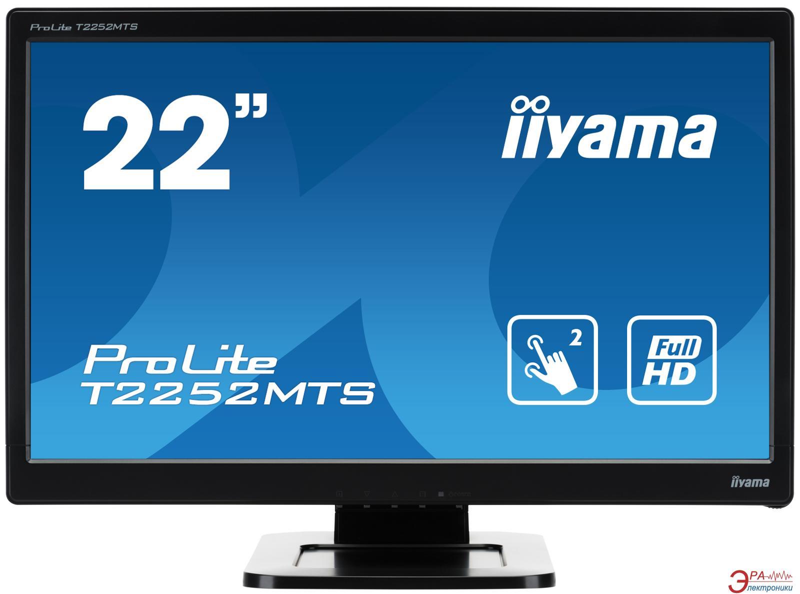 Монитор 21.5  Iiyama ProLite T2252MTS-B3