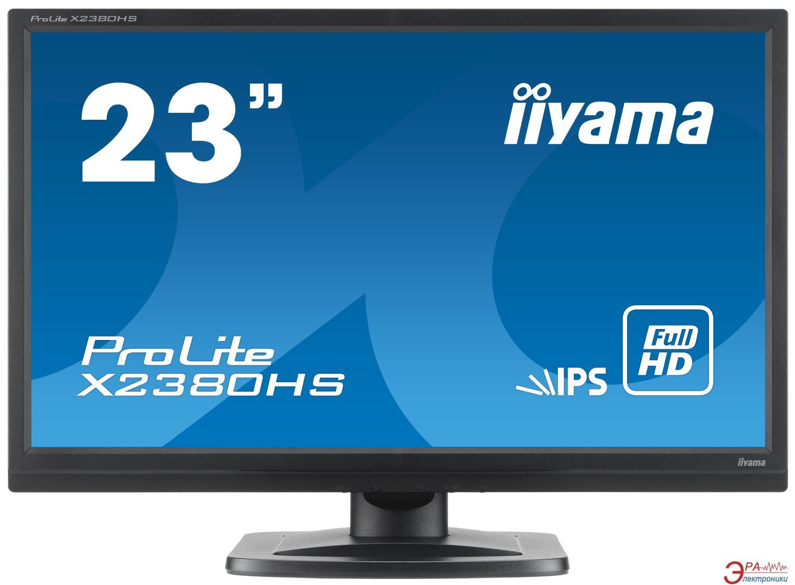 Монитор 23  Iiyama ProLite X2380HS-1 (X2380HS-B1)
