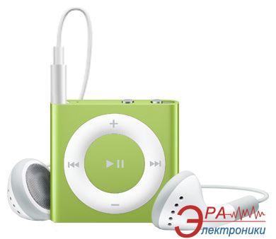MP3 плеер Apple A1373 iPod shuffle (4Gen) 2 Gb green (MC750RP/A)
