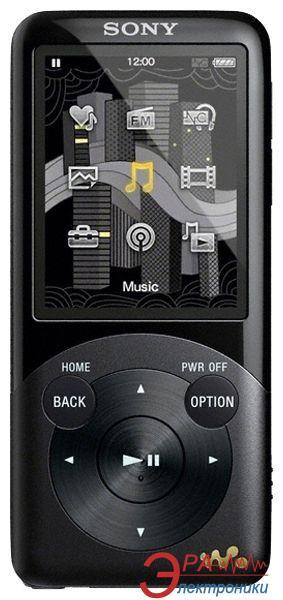 MP3-MP4 плеер Sony Walkman NWZ-S754 8 Gb Black (NWZS754B.CEV)
