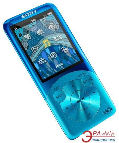 MP3-MP4 плеер Sony Walkman NWZ-S754 8 Gb Blue (NWZS754L.CEV)