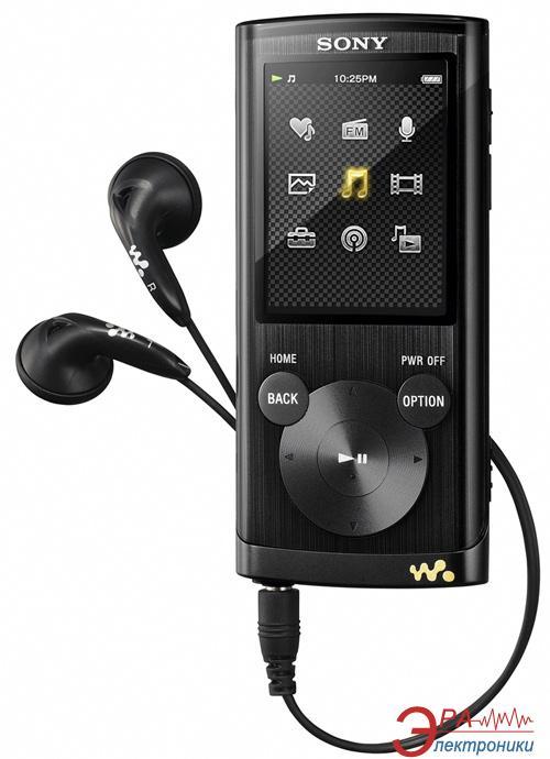 MP3-MP4 плеер Sony Walkman NWZ-E453 4 Gb Black (NWZE453B.CEV)