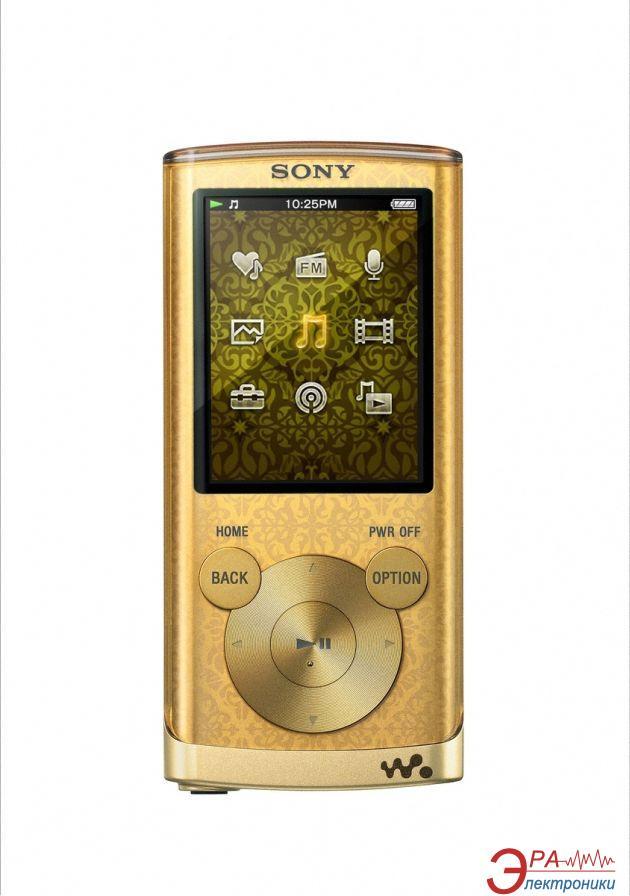 MP3-MP4 плеер Sony Walkman NWZ-E453 4 Gb Gold (NWZE453N.CEV)