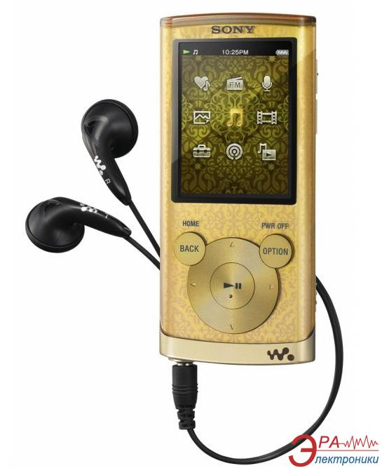 MP3-MP4 плеер Sony Walkman NWZ-E454 8 Gb Gold (NWZE454N.CEV)