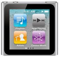 MP3-MP4 плеер Apple A1366 iPod nano (6Gen) 16 Gb Graphite (MC694QB/A)