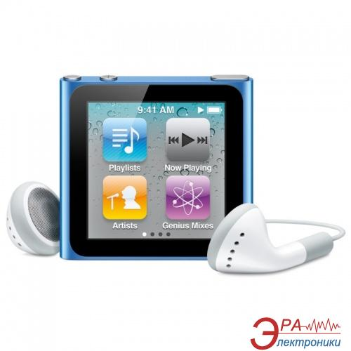 MP3-MP4 плеер Apple A1366 iPod nano (6Gen) 8 Gb Blue (MC689QB/A)