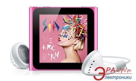 MP3-MP4 плеер Apple A1366 iPod nano (6Gen) 8 Gb Pink (MC692QB/A)