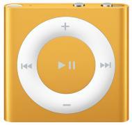 MP3 плеер Apple A1373 iPod shuffle (4Gen) 2 Gb orange (MC749RP/A)