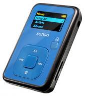 MP3 плеер SanDisk Sansa Clip+ 4 Gb синий (SDMX18R-004GB-E57)