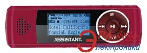 MP3 плеер Assistant AM-071 02 2 Gb red