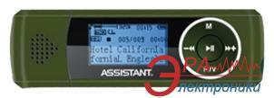 MP3 плеер Assistant AM-071 04 4 Gb green