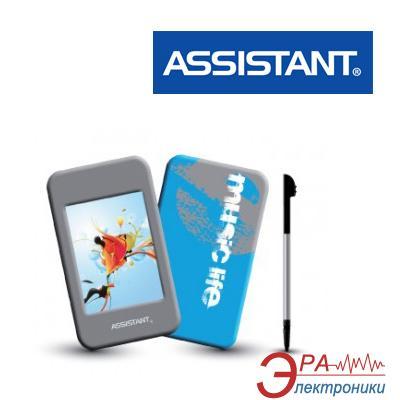 MP3-MP4 плеер Assistant AM-283 08 8 Gb blue