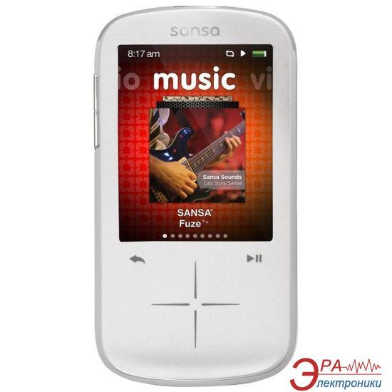 MP3-MP4 плеер SanDisk Sansa Fuze+ 8 Gb white (SDMX20R-008GW-E57)