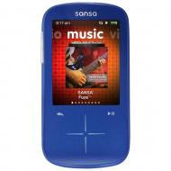 MP3-MP4 ����� SanDisk Sansa Fuze+ 8 Gb blue (SDMX20R-008GB-E57)