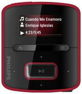 MP3 ����� Philips GoGear Raga 2 Gb red (SA3RGA02R/02)
